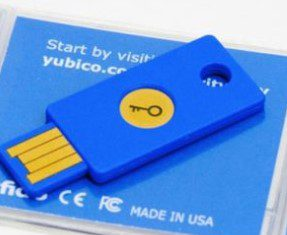 u2f security key decdeg